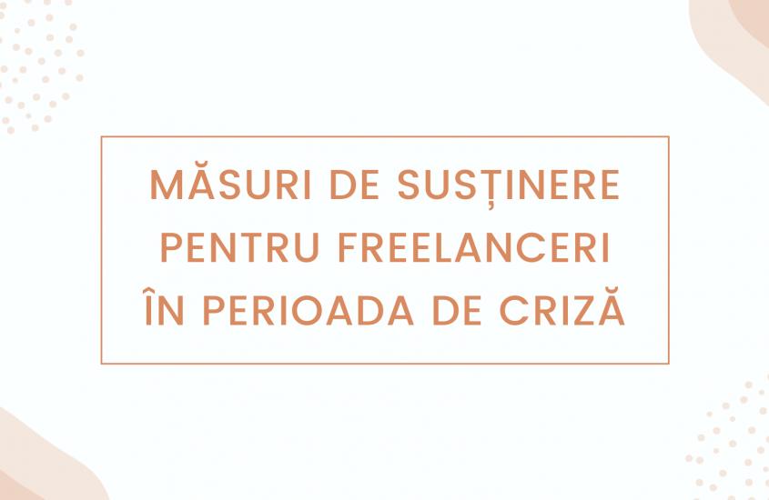 (Update) Măsuri financiare pentru Freelanceri – Ioana Arsenie, Strateg Financiar