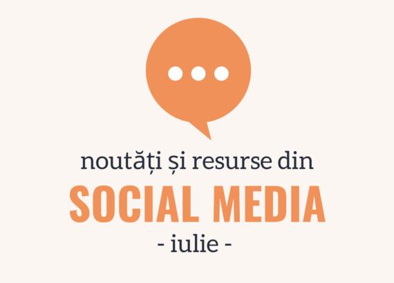 noutăți și resurse din social media
